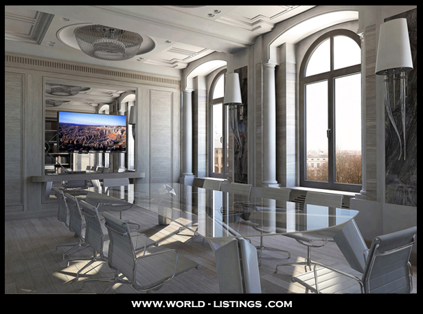 luxury office interior project