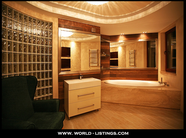 luxury bathroom interior project