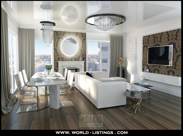 luxury living room project