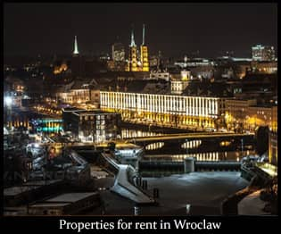 apartments for rent in Wroclaw